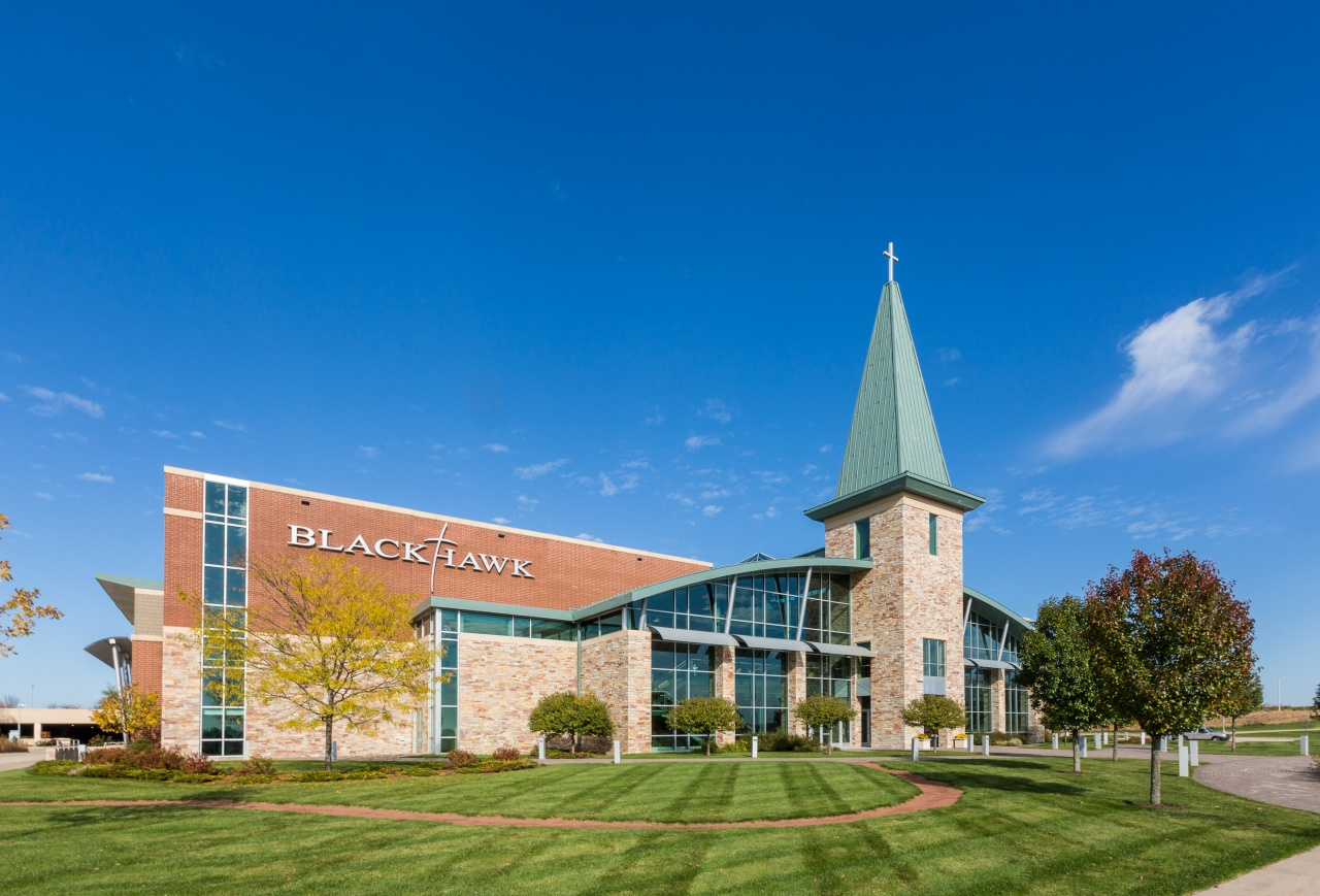 Blackhawk Church construction located in Madison, WI area