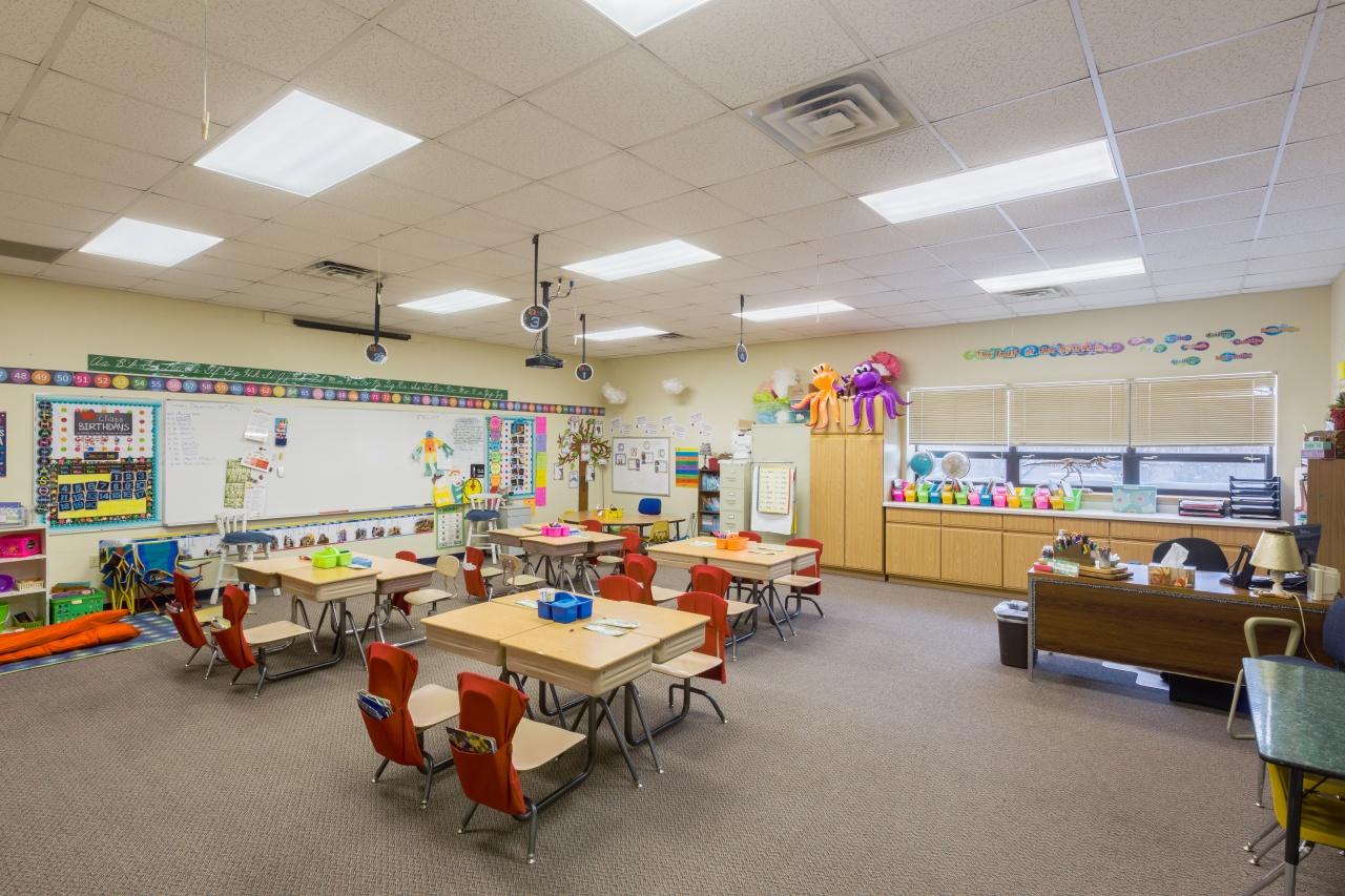 Abundant Life Christian School classroom