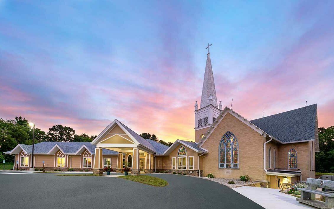 Historic church construction